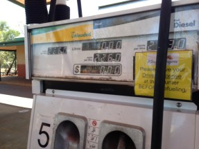 High fuel prices...
